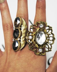 love big chunky rings
