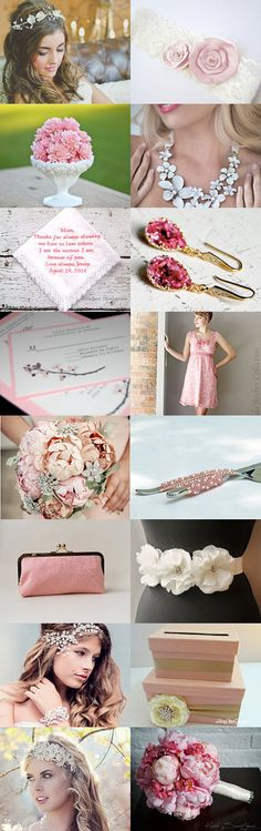 Cherry Blossom Wedding by blueorchidcreations on Etsy--Pinned with TreasuryPin.com www.blueorchidcreations.etsy.com