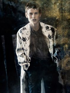 Saskia De Brauw By Paolo Roversi For Purple Fashion Fall 2013 — Anne of Carversville