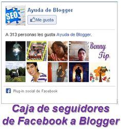 Como insertar la caja de seguidores de Facebook a Blogger « Widgets y Plugins para Blogger