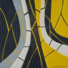 12 x 12 Compositions - Valerie Maser-Flanagan  Fiber Artist
