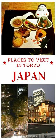 Places to visit in Tokyo and things to do. Winter is the best time to visit Tokyo.
