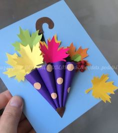 Crafts Crafts - Fall Crafts For Kids Autumn Crafts, Fall Crafts For Kids, Diy Arts And Crafts, Spring Crafts, Toddler Crafts, Preschool Crafts, Kids Crafts, Art For Kids, Christmas Crafts