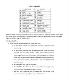 Packing List Template Word 10 Needs Assessment Templates  Word Excel & Pdf Templates  Www .