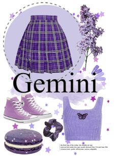 Taylor R, Teen Fashion, Fashion Outfits, Air Signs, Outfit Maker, Purple Flowers, Chuck Taylors, Horoscope, Gemini
