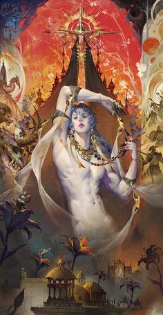 Character Inspiration Fantasy, Art Asiatique, Wow Art, Fantasy Artwork, Pretty Art, Aesthetic Art, Art Inspo, Art Reference, Amazing Art