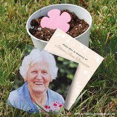 These Photo #Memorial Seed Cards are ideal for #greenburials. You'll be able to…
