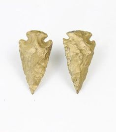 These gold arrowhead earrings are perfect for the woman warrior in your life. $20