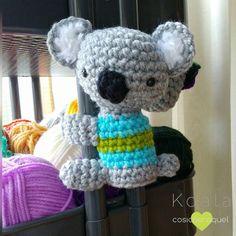 Si te gustan los Koalas estate atenta al blog o suscribete para no perderte el patrón de este koala tan mono www.cosicasraquel.es #koala #amigurumi #crochet #love #cute #instacrochet #patronescrochetgratis #blog #blogger #handmadewithlove #picoftheday #cosicasraquel by cosicasraquel