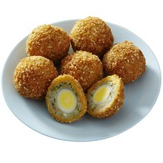 First invented by Fortnum's, the Scotch egg is an Easter favourite and lends itself to constant reinvention. In this winning combination, these little quail eggs taste as if a delicious sesame prawn toast has been wrapped around them. Sold in a clutch of six eggs, they make an original cocktail snack or lunchtime treat.