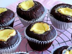 Double Chocolate Cheesecake Muffins a la Starbucks