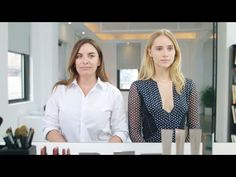 Suki Waterhouse and Makeup Guru Wendy Rowe in a Burberry Beauty How-To | NET-A-PORTER.COM - YouTube   Good tips. I want to try some of these products