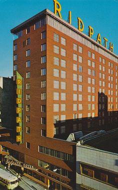 Ridpath Hotel - Spokane, Washington..........