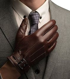 black gloves men - Google Search