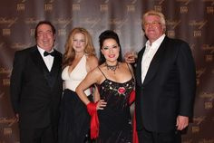 Steve Cooke, Kelly Hall, Margo Rey and Ron White - Official Site attend Zino Platinum Cigars / Davidoff dinner in Las Vegas
