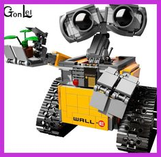 2016 New GonLeI 39023 687Pcs Idea Robot WALLE Model Building Kits Blocks Bricks Children Toys compatible 16003 Kids toys Christ
