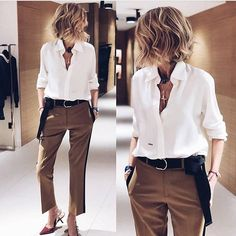 Ideas For Moda Casual Outfits Sandals Mode Outfits, Fall Outfits, Casual Outfits, Fashion Outfits, Womens Fashion, Casual Pants, Summer Outfits, Fashion Tips, Office Fashion