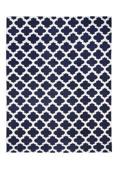 Tapete Kilim Jaly Dark Blue/White | By Kamy Store | Bykamy.com