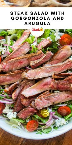Salad Recipes For Dinner, Dinner Salads, Healthy Salads, Healthy Eating, Healthy Recipes, Quick Recipes, Food Network Recipes, Cooking Recipes, Giada Recipes