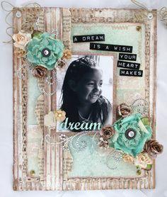 Natasha Naranjo Aguirre- corrugated board, DYMO, handmade canvas flowers