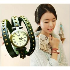 Pastoral fashion genuine leather female watches
