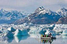 Columbia Glacier, Columbia Bay, Prince William Sound
