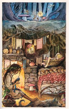 from  Peter Pan - illustrated by Trina Schart Hyman