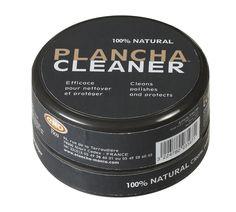 Produit nettoyant pour plancha écologique pour nettoyer La Plancha ENO - 100 % naturel, composé de pierre d'argile légèrement abrasive. Pour nettoyer en profondeur la plaque en fonte émaillée et lui rendre son brillant.