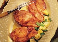 pork chop with pineapple