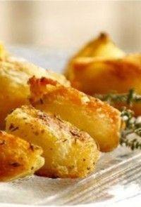 Crispy πατάτες φούρνου