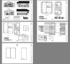PDF house plans, garage plans, & shed plans. Carriage House Plans, Pole Barn House Plans, Cabin House Plans, Pole Barn Homes, Barn Plans, Pole Barns, House 2, Garage House, Cottage House