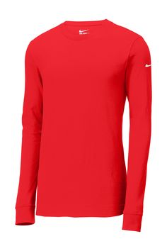 buy online aa637 d8e64 The Nike Core Cotton Tee is made of pure cotton for all-day comfort and  lasting wear. Durable rib knit crew neck with interior taping.