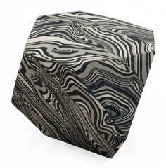 """CODY HOYT Truncated Tetrahedron shaped vessel. Mixed stoneware, glazed interior. 5"""" x 5"""" x 5"""" 2014"""