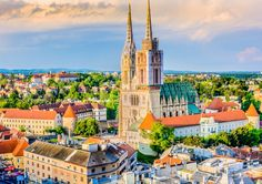1. Zagreb, Croatia.