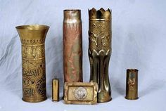 WWII Trench Art this stuff is so cool