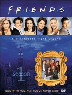 Friends: The Complete First Season on DVD from Warner Bros. Staring Lisa Kudrow, Matt LeBlanc, Jennifer Aniston and David Schwimmer. More Comedy, NBC and Friendships DVDs available @ DVD Empire. Friends Tv Show, Tv: Friends, Watch Friends Online, Friends 1994, Friends Season, Friends Series, Friends Cast, Friends Forever, Great Tv Shows
