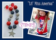 Love this necklace! From Sprinklings!