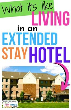 I've lived in extended stay motels. Whether it be because of employment circumstances, moving, or another personal situation, living in extended stay motels could be the affordable housing solution you're looking for! Cheap extended stay hotels can be comfortable and practical -- for yourself or your entire family -- as temporary housing for a few months. Here's what it's like living in a motel, how much it costs, and how to find monthly hotel rentals that meet your needs best. #cheaphotels