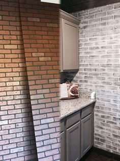 10 Strategies To Apply White Brick Wall In Various Rooms Archlux Net Faux Brick Walls Brick Paneling Brick Wall Paneling