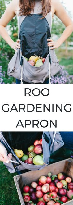 Roo Gardening Apron / $32.95 /Gardening Apron / Christmas Gifts for Gardeners /