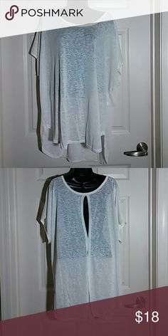 Top Brand New top with open slit on top back and bottom Lane Bryant Tops