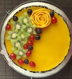 Mango Mousse Cake! Yumm!