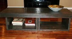 5 foot Coffee table / Coffee table with storage / Coffee table with shelves. $279.00, via Etsy. 60 x 22 x 18 5 Foot Coffee Table, Coffee Table With Shelf, Crate And Barrel, Crates, New Homes, Shelves, Living Room, Furniture, Etsy