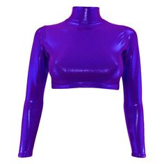 Coordinate with matching Banger shorts for the perfect outfit. Color Pick, Dance Tops, Firecracker, Polo Neck, Jumping Jacks, Long Sleeve Crop Top, Catsuit, Dance Wear, Leotards