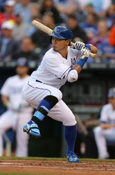 "Norichika ""Nori"" Aoki,  Kansas City Royals"