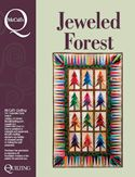 Jeweled Forest - instantly downloadable digital quilt pattern from McCall's Quilting.