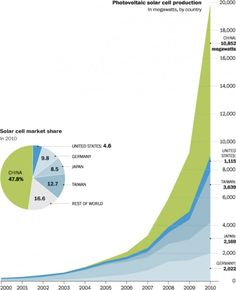 Solar Cell Market Share in 2010