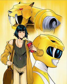 Real Power Rangers, Mighty Morphin Power Rangers, Dc Comics Art, Marvel Dc Comics, Green Ranger, Kamen Rider, Teen Titans, Comic Art, Digital Art