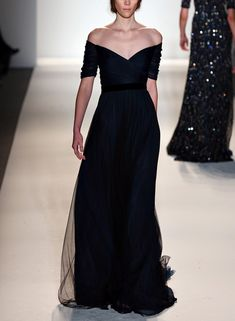 beautiful shoulder/neckline Jenny Packham Fall 2013 rtw