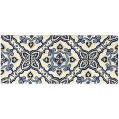 Cloud Step® Mediterranean Tile Memory Foam Rugs | Pier 1 Imports